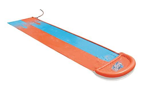 Bestway- Tapis de Glisse Double L 549 cm, 52264, Bleu et Orange