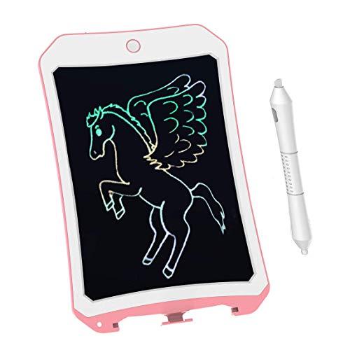 BIBOYELF Tablette D'ÉCriture LCD ColorÉE pour Jouets pour Enfants,Filles De 3-12 Ans,Planche De...