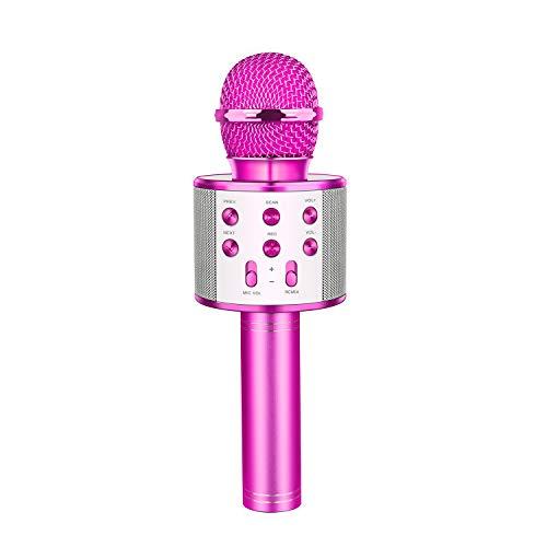 Cadeau Fille 4-15 Ans, LetsGO toyz Microphone Bluetooth pour Enfants Cadeaux pour Fille de 4-12 Ans...