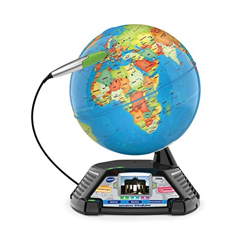 VTech- Globe d'apprentissage, 80-605464, Multicolore