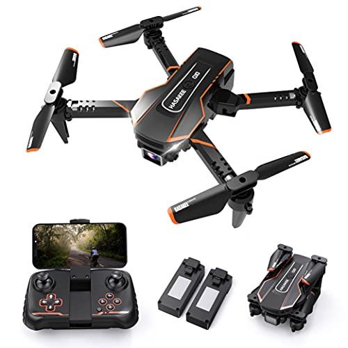 Q10 Mini Drone avec Camera 720P HD WIFI FPV Télécommande,Pliable Drone Enfant avec Maintien de...
