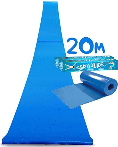 Double Ventriglisse Géant XXXXL Officiel 20 Mètres | Maxi Tapis de Glisse Qualité Premium |...