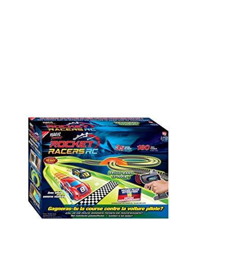 MAGIC TRACKS Rocket Racers - Le Nouveau Circuit pour créer Une compétition Face à Une Voiture...
