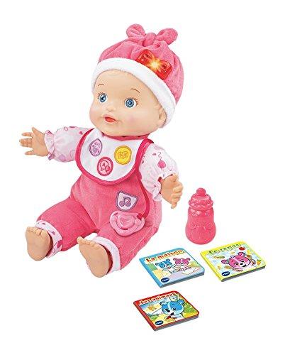 VTech - Little Love - Mon Bébé Apprend À Parler - poupée interactive - poupon - poupée...