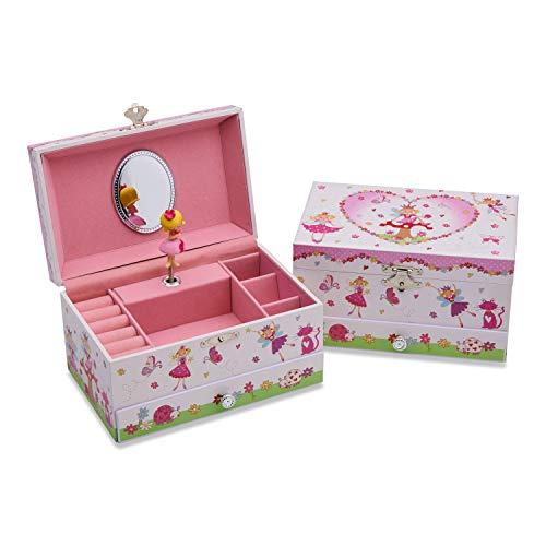 Boite à bijoux cadeau fille 7 ans