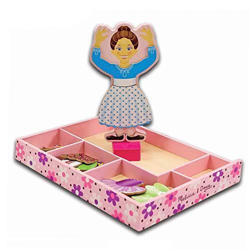 cadeau fille 3 ans poupee en bois a vetements