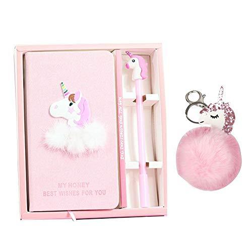 Set de stylos gel Journal Unicorn - Porte-clés Unicorn De beaux cadeaux pour les filles de tous...