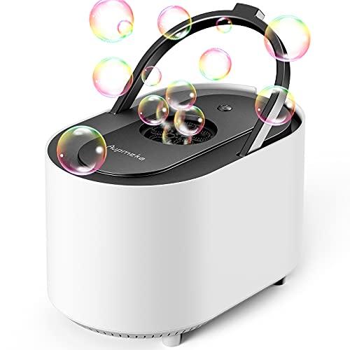 Aupmeka Machine à Bulles à haut débit Automatique Silencieux 3500 Bulles Par Minute Pour mariage,...