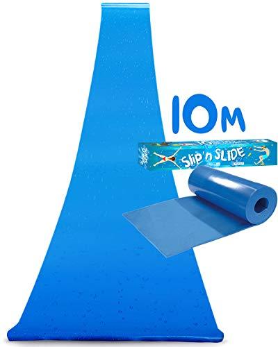 Ventriglisse Géant XXL Officiel 10 Mètres | Tapis de Glisse Qualité Premium | Slip'n Slide | Jeu...