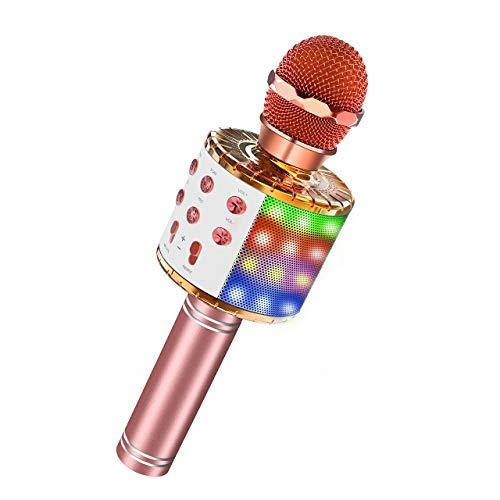 ATOPDREAM Cadeaux pour Fille 4-12 Ans, Karaoke Enfants Jouet Enfant 4-12 Ans Fille Cadeau Enfant...