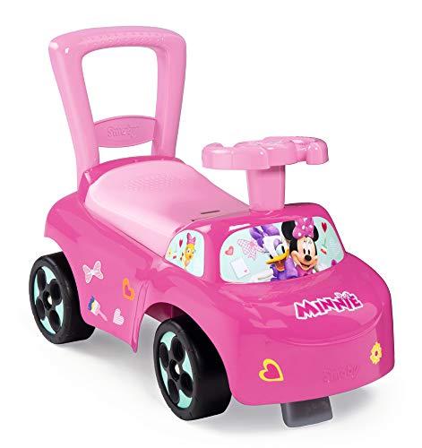 Smoby - Minnie - Porteur Auto - Fonction Trotteur - Pour Enfant Dès 10 Mois - Coffre à Jouets -...