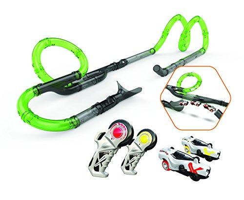 Exost Loop - Circuit de Voiture - Infinite Racing Set - Tubes XXL à Assembler - Loopings et Grand...