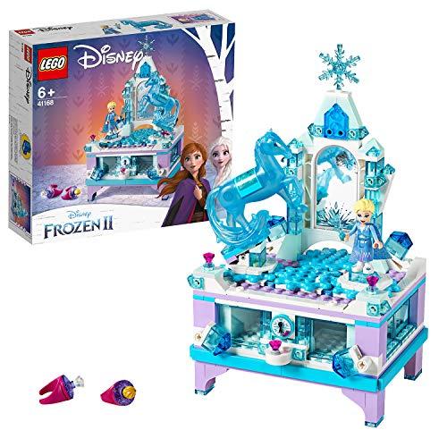 LEGO®-Disney Princess™ La boîte à bijoux d'Elsa Inspiré du palais Reine des Neiges 2 de Disney...
