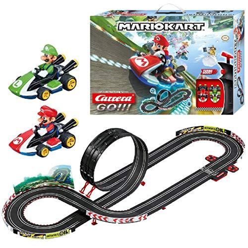 Carrera GO!!! Nintendo Mario Kart 8 – Circuit de course électrique avec voitures miniatures Mario...