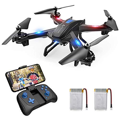 SNAPTAIN S5C Drone avec Caméra 720P WiFi FPV Télécommande WiFi APP, avec Contrôle Gestuel,Vol de...