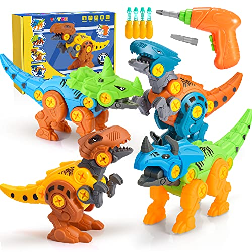 Toyzey Dinosaure Jouet Enfant 3 4 5 6 7 8 9 Ans,Jurassic World Dinosaure Jouet Garcon 3-9 Ans...