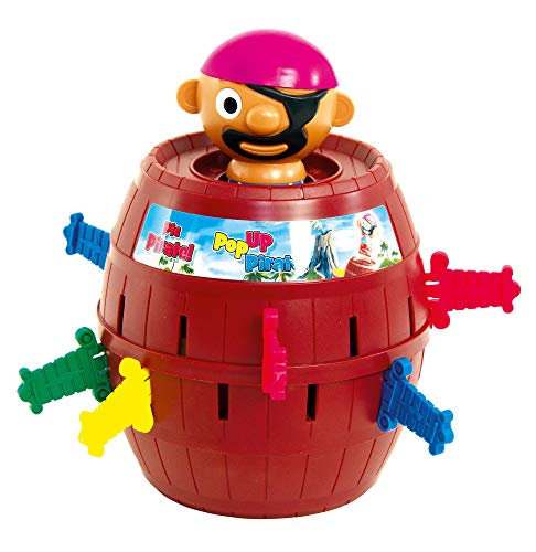 TOMY - Pic Pirate Jeux de Société pour Enfants T7028A1, Jouet Enfant 4 ans, Jeu Rigolo pour...