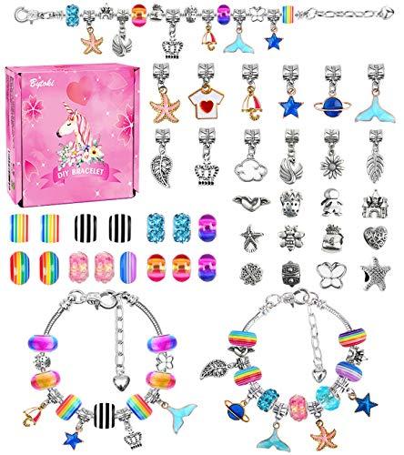 Cadeaux Jouets pour Filles de 4 à 13 Ans, Kit de Fabrication de Bracelet Bracelet Fille Kit pour...