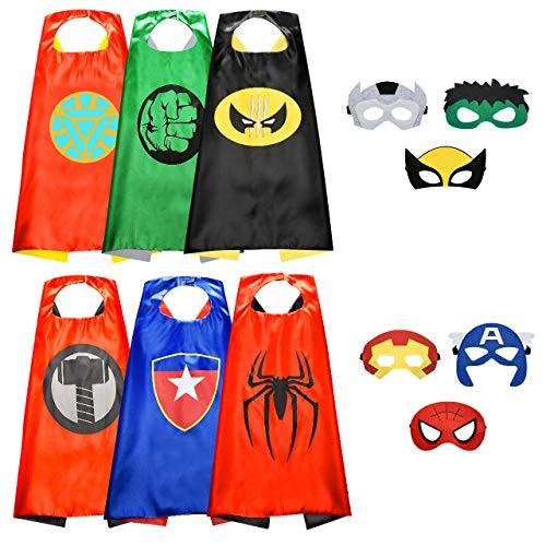 Easony Jouet Garcon 3 4 5 6-10 Ans, Deguisement Super Hero Cadeaux Garcon 5-10 Ans Jouet Garcon...