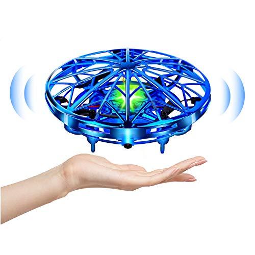 UTTORA Mini Drônes pour Enfants,UFO Drone Quadcopter à Commande Manuelle,Flying Ball UFO Drone...