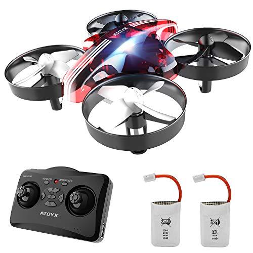 ATOYX Drone Enfant Jouets d'intérieur Hélicoptère Télécommandé Quadcopter avec Mode sans Tête...