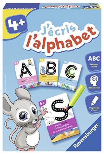 Ravensburger- Jeu Educatif- J'écris l'alphabet- Se préparer à l'écriture- A partir de 4 ans-...
