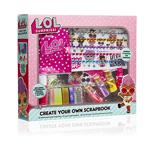 L.O.L. Surprise! Kit Scrapbooking Enfant Thème LOL Surprise avec Album, Stickers et Ruban | Kit De...