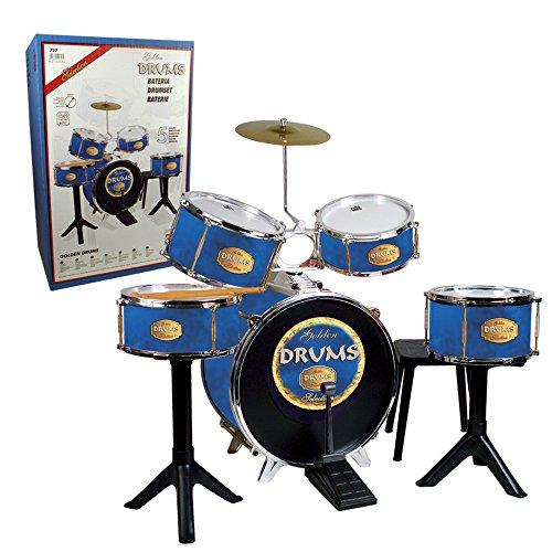 REIG- Batterie Golden Drums, 727