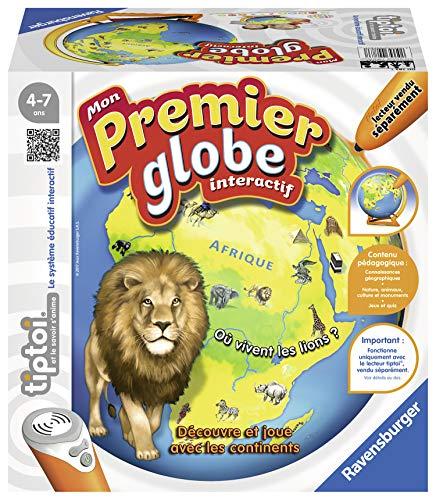 Ravensburger- tiptoi® - Globe interactif- Mon Premier Globe interactif- A partir de 4 ans- 00783