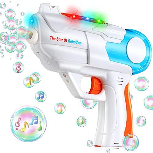 TangTag Machine à Bulles, Pistolet à Bulles Automatique, Souffleur de Bulles pour Enfants,...
