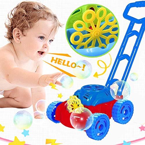 Sunshine smile Machine à Bulles Enfant, Bubble Tondeuse , Machine à Bulles Portable , Jouet...