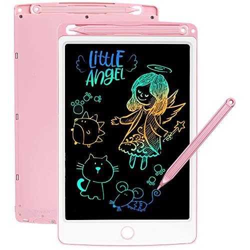 SCRIMEMO LCD Tablette D'écriture 8.5 Pouces Coloré, Ardoise Magique, Jouets pour Enfants, Filles...