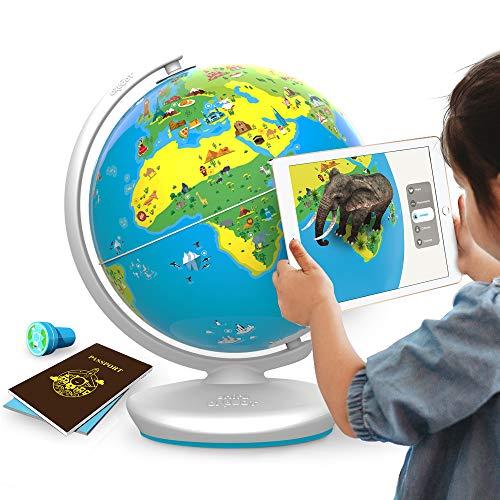 PLUGO Globe Terrestre Interactif- Jeux Educatif en Réalité Augmentée : Géographie, Culture,...