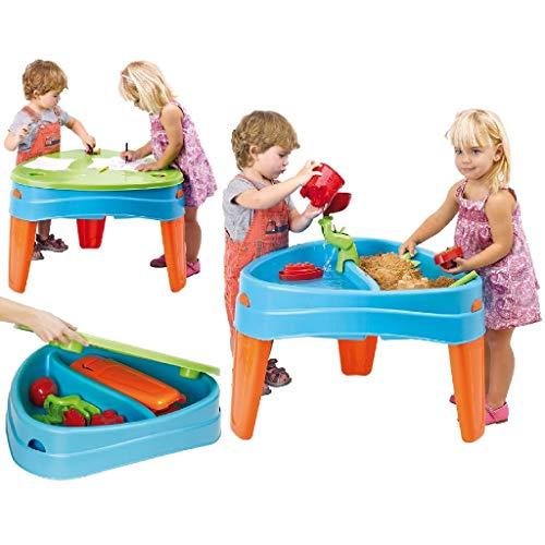 FEBER Play Island - Table de jeux au design d'île, pour enfants de 2 à 6 ans, Bleue (Famosa...
