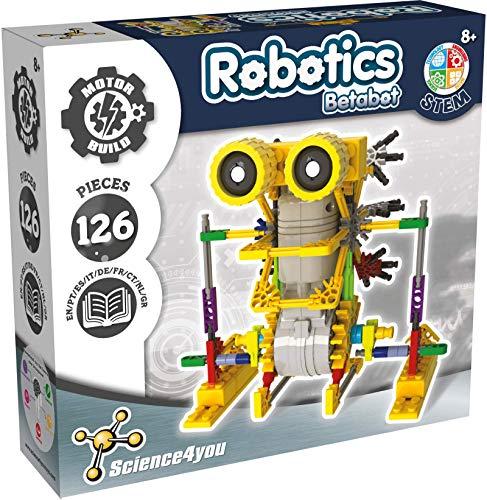 Science4you - Robotique Betabot, Kit Robot à Construire de 126 pièces pour Enfants +8 Ans - Monter...