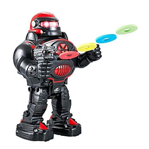 ThinkGizmos Robot Enfant RoboShooter Robot télécommandé pour Enfants - Jouet Enfant pour garçons...