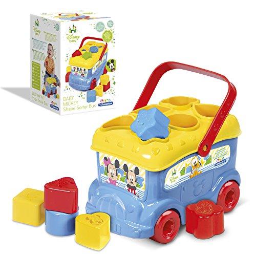 Clementoni - 14395 - Le bus des formes de Mickey - Disney - Premier age