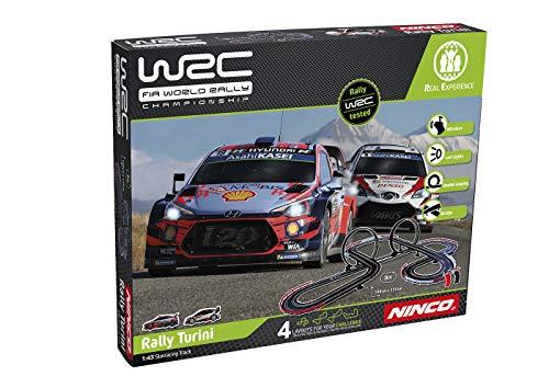 WRC - Circuits de Voitures électriques Rallye Col du Turini 8 m ( Hyundaî + Toyota)/Wireless...