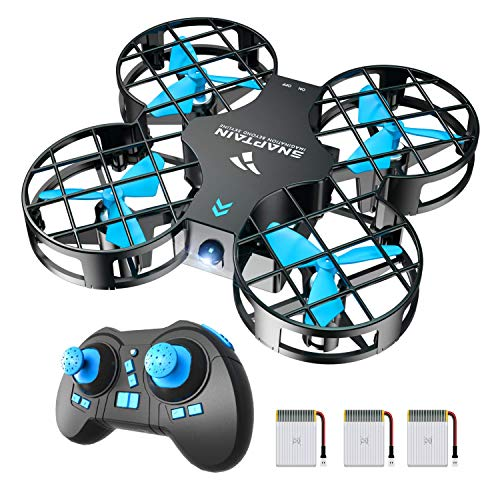 SNAPTAIN H823H Mini Drone Enfant 21 Mins Autonomie 3 Batteries Avion Hélicoptère,Mode sans Tête,...