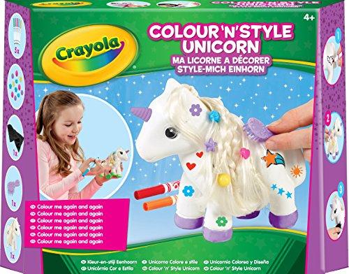 Crayola - Ma licorne à décorer - Activités pour les enfants - 256414.006