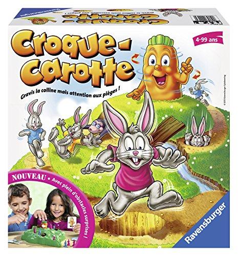 Ravensburger- Croque Carotte - Jeu de société pour enfants - Dès 4 ans - 22223