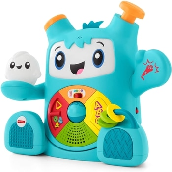 robot interactif fisher price
