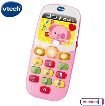smartphone rose fille 1 an