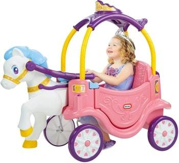 carosse de princesse fille-4-ans