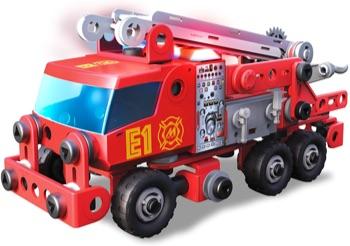 jeux de construction camion pompier
