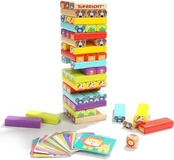 jouets en bois empilables