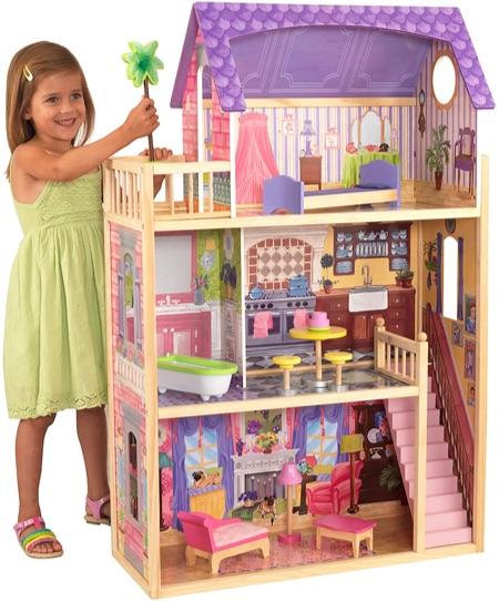 Maison de poupées en bois Kayla