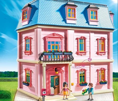 maison de poupée Playmobil
