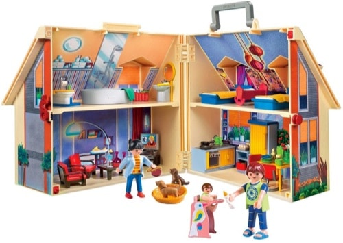 maison playmobile transportable