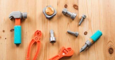 outils etabli pour enfant